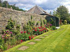 Summer in the Craigatin Garden, Pitlochry Scotland