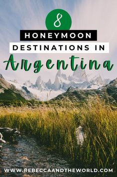 Planning a honeymoon in Argentina? Here's a guide to the most romantic places to visit in Argentina, including the best hotels for your honeymoon. | #honeymoon #honeymoonideas #argentina #southamerica #buenosaires #iguazu #gaucho #bariloche #patagonia #northargentina #salta #elchalten #elcalafate #mendoza #esterosdelibera Most Romantic Places, Argentina Travel, Cultural Experience, Honeymoon Destinations, Best Hotels, Travel Guides, Patagonia, South America, Places To Visit