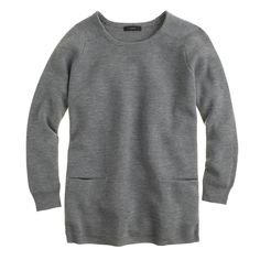 Merino wool pocket tunic : sweaters   J.Crew