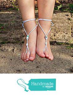Baby Barefoot Sandals Foot Jewelry Beach wedding from Modern Crochet Club http://www.amazon.com/dp/B016OFFW16/ref=hnd_sw_r_pi_dp_Yg3jwb09B99JT #handmadeatamazon