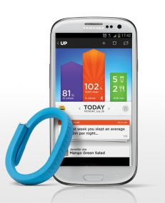 Jawbone UP wristband and app - track your activity, sleep, food, and more!