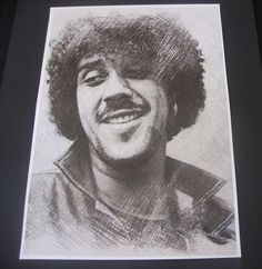 Thin Lizzy-Phil Lynott Poster Sketch Print New A3 Size