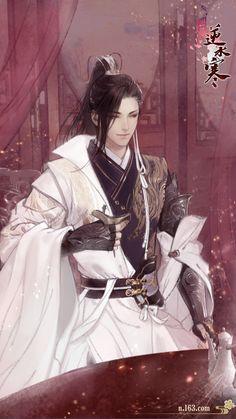 High-rated fantasy books on Fantasy Art Men, My Fantasy World, Fantasy Books, Fantasy Characters, Ancient China, Ancient Art, China Art, Boy Art, Anime Guys
