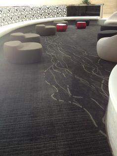Thread & Tweed /Shaw Contract/ Sony Studios-Santa Monica Commercial Carpet, Commercial Flooring, Shaw Contract, Office Floor, Best Carpet, Carpet Flooring, Santa Monica, Workplace, Carpets