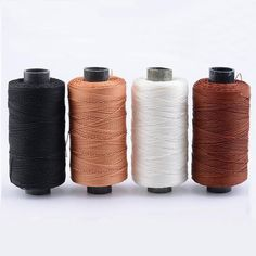 300M/Roll Sole Line Seam Shoe Repair Nylon Threads Leather Tools Wire Sole DIY H  | eBay