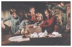 The Homecoming...the December, 1971, tv pilot based on Earl Hamner, Jr.'s novel Spencer's Mountain (and the movie of the same name).  The Waltons TV series, as we remember it best, then began to air in September of 1972.