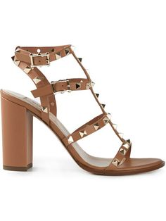 965a03ad9cd5 Shop Valentino Garavani  Rockstud  sandals in Gaudenzi from the world s  best independent boutiques at