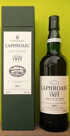 This is the 750 ml from The strength of this whisky is % Vol. A bottle from Laphroaig Rum Bottle, Liquor Bottles, Cigars And Whiskey, Scotch Whiskey, Bourbon, Whisky Islay, Whisky Club, Spirit Drink, Champagne Drinks