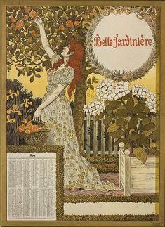 Eugène Grasset (1845-1917) Eugene Grasset, Design Art Nouveau, Good Morning Flowers, Art Japonais, Horse Drawings, Vintage Artwork, Ink Art, Illustrators, Vintage World Maps