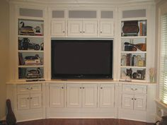 A Weston, Connecticut TV/Wall Unit
