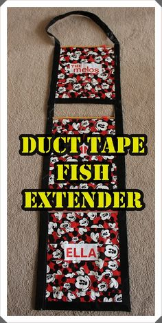 Duct Tape Fish Extender - So...That's How She Does It!