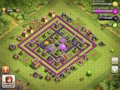 COC village layout #COCVILLAGELAYOUT