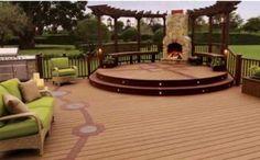 deck patio designs | decks patio furniture decorating ideas 2012 Patio Deck Design Luxury ...