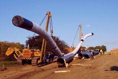 Μετακίνηση τμήματος του αγωγού Φυσικού Αερίου στον Πλαταμώνα
