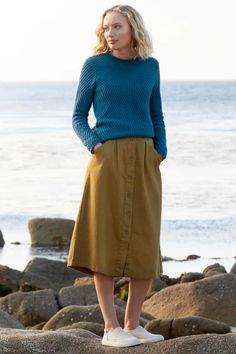 Sea And Shore Jumper, Merino Wool Blend - Seasalt Cornwall - Seasalt Cornwall Clothes For Sale, Clothes For Women, Minimal Fashion, Minimal Style, Spring Looks, Sea Salt, Lifestyle Photography, Merino Wool, Wool Blend
