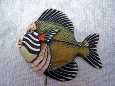 Одноклассники Pottery Animals, Ceramic Animals, Clay Animals, Fish Wall Art, Fish Art, Paper Clay, Clay Art, Clay Fish, Fish Sculpture