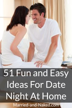 Having trouble getting a sitter so that you and your sweetie can have date night? No worries! Check out 51 Fun And Easy Ideas For Date Night At Home. Happy Date Night!