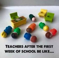 Because you pretty much need a whole summer again to get over the first week. 22 Back-To-School Memes All Teachers Will Relate To Teacher Comics, Teacher Humour, Teaching Humor, Teaching Quotes, Teacher Memes, Teacher Stuff, Teacher Tools, Teacher Sayings, Real Teacher