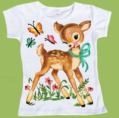 Tshirt Tank Kids Vintage Woodland Deer One by ChiTownBoutique ~ @vwright82  !!!  LOVE