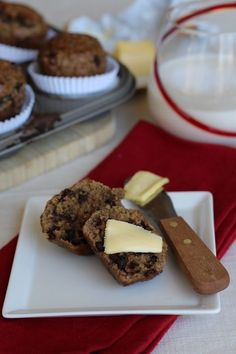 Chocolate Chip Protein Muffins (nut free), #Chip, #Chocolate, #Muffins, #Protein