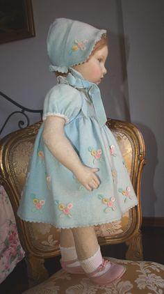 "22"" Lenci Old Italian Doll in Mint Condictions Serie 109 CA 1930 | eBay"
