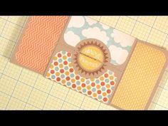 Shutter Peek-a-boo card - YouTube