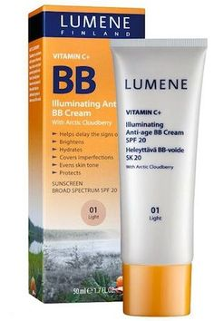 Best BB Cream of 2013: Lumene Vitamin C+ Illuminating Anti-Age BB Cream #aYearinMUAreviews