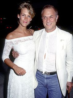 Jamie Lee & Tony Curtis...daughter/dad