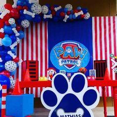 Paw Patrol Birthday Decorations, Paw Patrol Birthday Cake, Paw Patrol Party, Baby Boy Birthday, 4th Birthday, Cumple Paw Patrol, Magic Party, First Birthdays, Ideas Aniversario