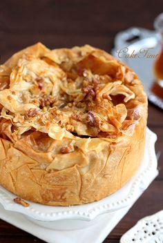 sernik bakława/ baklava cheesecake