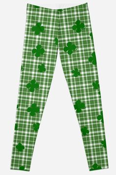 St. Patricks day plaid pattern • Also buy this artwork on apparel, stickers, phone cases, and more.
