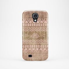 Samsung Galaxy S3 – S4 – S5 case.  Beautiful case for your Samsung Galaxy with aztec pattern on printed wood.    >>PLEASE NOTE: if the main photo is