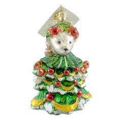 Radko MUFFY LITTLE FIR TREE 01NAB08 Ornament Vanderbear Christmas New