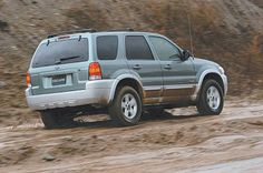 2005 SUVs that Are Easy on Your Wallet at the Gas Pump: 2005 Ford Escape Hybrid Front Wheel Drive (2.3L 4-Cylinder)