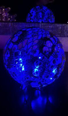 Sininen pääkallovalo