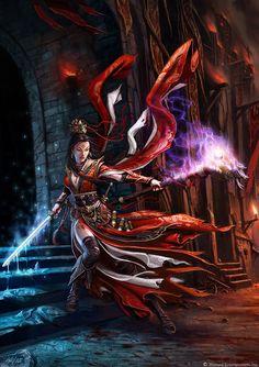ArtStation - The Art of Diablo, Wei Wang