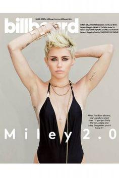 """Eine ganz schön heiße Miley Cyrus ziert die Juli-2013-Ausgabe des """"Billboard""""-Magazins."""
