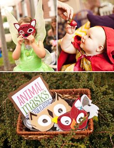 Enchanted Forest + Woodland Style First Birthday // Hostess with the Mostess®