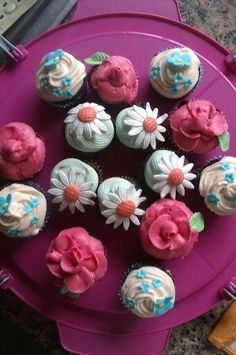 Cupcakes para Isidro