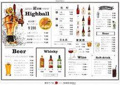 「drink menu」の画像検索結果