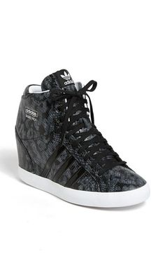 adidas 'Basket Profi' Hidden Wedge Sneaker (Women)
