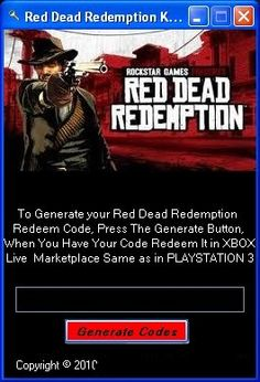 Red Dead Redemption PC Crack   Serial Keygen Tool Free Download