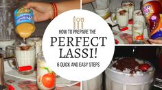 How to Make the Perfect Indian Lassi! #indianfood #food #foodie #curry #foodporn #vegan #vegetarian #India #recipes #recipe #yummy