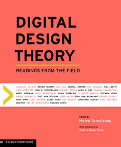 Digital Design Theory Readings From The Field Princeton Architectural Press 2016