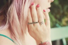 cool pink and red