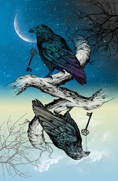Raven's Key Night+Day  Rachel Caldwell