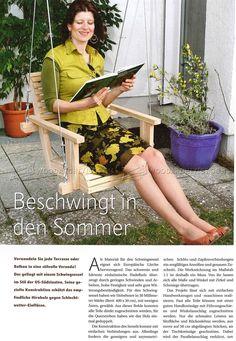 Wooden Swing Plans - Outdoor Furniture Plans Outdoor Plans