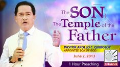'The Son: The Temple of the Father' by Pastor Apollo C. Spiritual Enlightenment, Spirituality, Kingdom Of Heaven, Son Of God, Apollo, Worship, Temple, Sons, Father