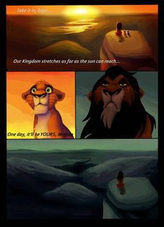 He Watches Over - Page 4 by NostalgicChills on DeviantArt Scar Lion King, Lion King Fan Art, King Art, Disney Dream, Disney Love, Lion King Pictures, Lion King Drawings, Funny Disney Memes, Nickelodeon