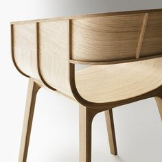 Casamania - Maritime Armchair: The Maritime Armchair by the designer Benjamin Hubert for Casamania in our Online Shop Plywood Furniture, Plywood Chair, Design Furniture, Chair Design, Cool Furniture, Plywood Boat, Google Design, Console Design, Bent Wood